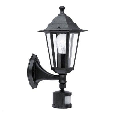 Eglo LATERNA 4 22469 светильник уличныйУличные настенные светильники<br>Обеспечение качественного уличного освещения – важная задача для владельцев коттеджей. Компания «Светодом» предлагает современные светильники, которые порадуют Вас отличным исполнением. В нашем каталоге представлена продукция известных производителей, пользующихся популярностью благодаря высокому качеству выпускаемых товаров.   Уличный светильник Eglo 22469 не просто обеспечит качественное освещение, но и станет украшением Вашего участка. Модель выполнена из современных материалов и имеет влагозащитный корпус, благодаря которому ей не страшны осадки.   Купить уличный светильник Eglo 22469, представленный в нашем каталоге, можно с помощью онлайн-формы для заказа. Чтобы задать имеющиеся вопросы, звоните нам по указанным телефонам.<br><br>Тип лампы: накаливания / энергосбережения / LED-светодиодная<br>Тип цоколя: E27<br>Цвет арматуры: черный<br>Длина, мм: 165<br>Расстояние от стены, мм: 235<br>Высота, мм: 425<br>Оттенок (цвет): прозрачный<br>MAX мощность ламп, Вт: 60<br>Общая мощность, Вт: 2