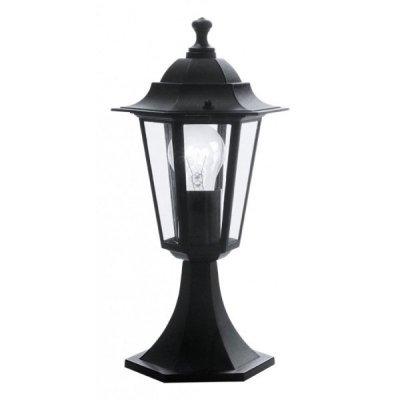 Eglo LATERNA 4 22472 светильник уличныйФонари на столб<br>Обеспечение качественного уличного освещения – важная задача для владельцев коттеджей. Компания «Светодом» предлагает современные светильники, которые порадуют Вас отличным исполнением. В нашем каталоге представлена продукция известных производителей, пользующихся популярностью благодаря высокому качеству выпускаемых товаров.   Уличный светильник Eglo 22472 не просто обеспечит качественное освещение, но и станет украшением Вашего участка. Модель выполнена из современных материалов и имеет влагозащитный корпус, благодаря которому ей не страшны осадки.   Купить уличный светильник Eglo 22472, представленный в нашем каталоге, можно с помощью онлайн-формы для заказа. Чтобы задать имеющиеся вопросы, звоните нам по указанным телефонам.<br><br>Тип лампы: накаливания / энергосбережения / LED-светодиодная<br>Тип цоколя: E27<br>Ширина, мм: 165<br>MAX мощность ламп, Вт: 60<br>Размеры основания, мм: 170<br>Длина, мм: 205<br>Высота, мм: 405<br>Оттенок (цвет): прозрачный<br>Цвет арматуры: черный<br>Общая мощность, Вт: 2