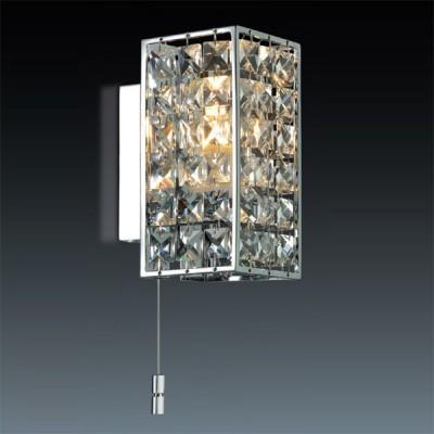 Светильник Odeon Light 2249/1W хром ToriДля ванной<br><br><br>S освещ. до, м2: 2<br>Крепление: планка<br>Тип лампы: галогенная / LED-светодиодная<br>Тип цоколя: G9<br>Количество ламп: 1<br>Ширина, мм: 72<br>MAX мощность ламп, Вт: 40<br>Расстояние от стены, мм: 100<br>Высота, мм: 150<br>Цвет арматуры: серебристый
