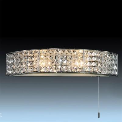 Светильник Odeon Light 2249/2W хром ToriДля ванной<br><br><br>S освещ. до, м2: 5<br>Крепление: планка<br>Тип лампы: галогенная / LED-светодиодная<br>Тип цоколя: G9<br>Количество ламп: 2<br>MAX мощность ламп, Вт: 40<br>Длина, мм: 448<br>Расстояние от стены, мм: 118<br>Высота, мм: 85<br>Цвет арматуры: серебристый