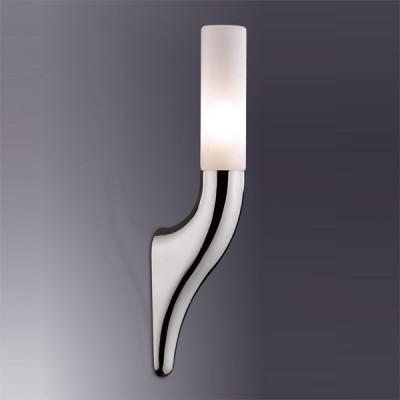 Светильник Odeon Light 2196/1W хром LinkДля ванной<br><br><br>S освещ. до, м2: 2<br>Крепление: планка<br>Тип лампы: галогенная / LED-светодиодная<br>Тип цоколя: G9<br>Количество ламп: 1<br>Ширина, мм: 40<br>MAX мощность ламп, Вт: 40<br>Высота, мм: 310<br>Цвет арматуры: серебристый