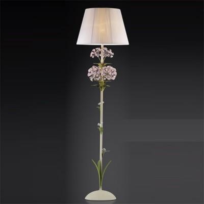 Торшер Odeon light 2251/1F цветной SerenaС абажуром<br><br><br>S освещ. до, м2: 4<br>Тип товара: Светильник напольный торшер<br>Скидка, %: 20<br>Тип лампы: накаливания / энергосбережения / LED-светодиодная<br>Тип цоколя: E14<br>Количество ламп: 1<br>MAX мощность ламп, Вт: 60<br>Диаметр, мм мм: 420<br>Высота, мм: 1450<br>Цвет арматуры: разноцветный