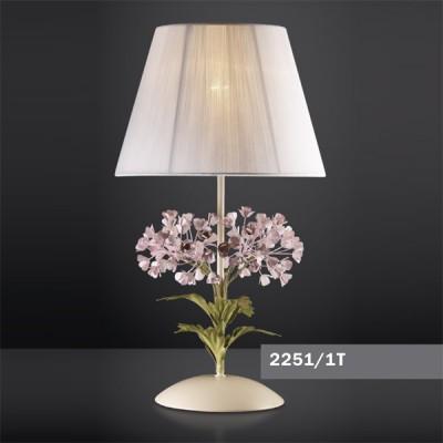 Светильник настольный Odeon light 2251/1T цветной SerenaФлористика<br>Настольная лампа – это не просто источник дополнительного освещения, но и оригинальный элемент декора. Его можно установить в спальне, гостиной, кабинете и других комнатах. Интернет-магазин «Светодом» предлагает настольные лампы разных стилей по доступным ценам. Благодаря большому ассортименту Вы обязательно найдете в нашем каталоге именно ту модель, которую искали.   Настольная лампа Odeon light 2251/1T  – прекрасный вариант для завершения интерьера. Ее можно включить одновременно с люстрой для более яркого освещения или без нее для создания уютной атмосферы, настраивающей на отдых.   Купить настольную лампу Odeon light 2251/1T  Вы можете с помощью виртуальной «Корзины» или по контактным номерам, указанным на сайте.<br><br>S освещ. до, м2: 4<br>Тип лампы: накаливания / энергосбережения / LED-светодиодная<br>Тип цоколя: E14<br>Количество ламп: 1<br>MAX мощность ламп, Вт: 60<br>Диаметр, мм мм: 280<br>Высота, мм: 350<br>Цвет арматуры: разноцветный