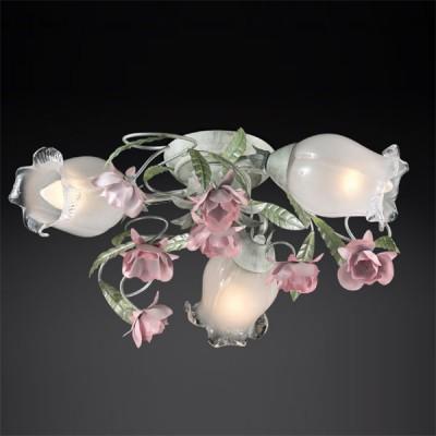 Люстра Odeon Light 2252/3C цветной AmeliПотолочные<br>Торжество дизайнерского творения в флористическом стиле – это потолочная люстра Odeon Light 2252/3C. Для особых ценителей изысканной нежности и очарования создано столь утончённое творение. Плафоны выполнены в форме цветков, конструкция переплетается с художественно воссозданными стеблями с мягкими бутонами на концах. Это шедевр! Вашему интерьеру не потребуется дополнительная роспись стен или потолков, если Вы приобретёте готовое украшение не только в рамках освещения, но и полноценного декора. Люстра Odeon Light 2252/3C вызывает приятный восторг и дарит ноты нежности, благодаря искусному дизайну в флористическом стиле. Окружите себя светом неподдельного очарования!<br><br>Установка на натяжной потолок: Ограничено<br>S освещ. до, м2: 12<br>Крепление: планка<br>Тип лампы: накаливания / энергосбережения / LED-светодиодная<br>Тип цоколя: E14<br>Количество ламп: 3<br>MAX мощность ламп, Вт: 60<br>Диаметр, мм мм: 380<br>Высота, мм: 130<br>Цвет арматуры: разноцветный