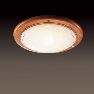 Светильник Сонекс 126 дуб RigaКруглые<br>Настенно потолочный светильник Сонекс (Sonex) 126 подходит как для установки в вертикальном положении - на стены, так и для установки в горизонтальном - на потолок. Для установки настенно потолочных светильников на натяжной потолок необходимо использовать светодиодные лампы LED, которые экономнее ламп Ильича (накаливания) в 10 раз, выделяют мало тепла и не дадут расплавиться Вашему потолку.<br><br>S освещ. до, м2: 6<br>Тип лампы: накаливания / энергосбережения / LED-светодиодная<br>Тип цоколя: E27<br>Количество ламп: 1<br>MAX мощность ламп, Вт: 100<br>Диаметр, мм мм: 310<br>Цвет арматуры: деревянный