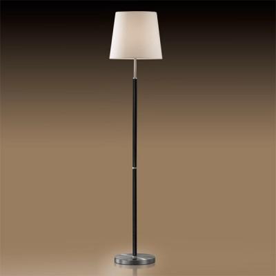 Торшер Odeon light 2266/1F никель GlenС абажуром<br><br><br>S освещ. до, м2: 4<br>Тип товара: Светильник напольный торшер<br>Тип лампы: накаливания / энергосбережения / LED-светодиодная<br>Тип цоколя: E27<br>Количество ламп: 1<br>MAX мощность ламп, Вт: 60<br>Диаметр, мм мм: 320<br>Высота, мм: 1680<br>Цвет арматуры: серый