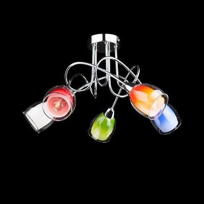 Люстра Евросвет 2267/5 хромПотолочные<br>Компания «Светодом» предлагает широкий ассортимент люстр от известных производителей. Представленные в нашем каталоге товары выполнены из современных материалов и обладают отличным качеством. Благодаря широкому ассортименту Вы сможете найти у нас люстру под любой интерьер. Мы предлагаем как классические варианты, так и современные модели, отличающиеся лаконичностью и простотой форм.  Стильная люстра Евросвет 2267/5 станет украшением любого дома. Эта модель от известного производителя не оставит равнодушным ценителей красивых и оригинальных предметов интерьера. Люстра Евросвет 2267/5 обеспечит равномерное распределение света по всей комнате. При выборе обратите внимание на характеристики, позволяющие приобрести наиболее подходящую модель. Купить понравившуюся люстру по доступной цене Вы можете в интернет-магазине «Светодом». Мы предлагаем доставку не только по Москве и Екатеринбурге, но и по всей России.<br><br>Установка на натяжной потолок: Да<br>S освещ. до, м2: 20<br>Крепление: Планка<br>Тип товара: Люстра<br>Тип лампы: накаливания / энергосбережения / LED-светодиодная<br>Тип цоколя: E14<br>Количество ламп: 5<br>MAX мощность ламп, Вт: 60<br>Диаметр, мм мм: 520<br>Высота, мм: 280<br>Цвет арматуры: серебристый