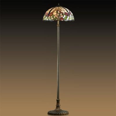 Торшер тиффани Odeon light 2268/2F FloraТиффани<br>Торшер – это не просто функциональный предмет интерьера, позволяющий обеспечить дополнительное освещение, но и оригинальный декоративный элемент. Интернет-магазин «Светодом» предлагает стильные модели от известных производителей по доступным ценам. У нас Вы найдете и классические напольные светильники, и современные варианты.   Торшер 2268/2F Odeon light сразу же привлекает внимание благодаря своему необычному дизайну. Модель выполнена из качественных материалов, что обеспечит ее надежную и долговечную работу. Такой напольный светильник можно использовать для интерьера не только гостиной, но и спальни или кабинета.   Купить торшер 2268/2F Odeon light по выгодной стоимости Вы можете с помощью нашего сайта. У нас склады в Москве, Екатеринбурге, Санкт-Петербурге, Новосибирске и другим городам России.<br><br>S освещ. до, м2: 8<br>Тип лампы: накаливания / энергосбережения / LED-светодиодная<br>Тип цоколя: E27<br>Количество ламп: 2<br>MAX мощность ламп, Вт: 60<br>Диаметр, мм мм: 460<br>Высота, мм: 1600<br>Цвет арматуры: коричневый