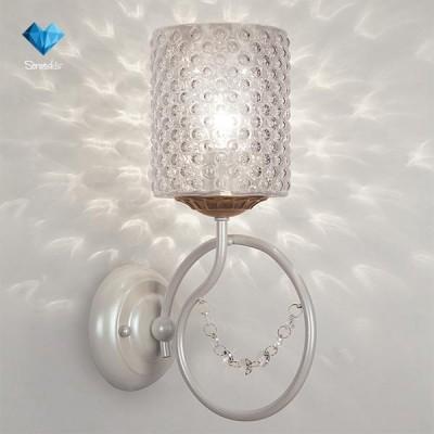 Светильник Bogateapos;s 227/1 StrotskisМодерн<br><br><br>Тип товара: Светильник настенный бра<br>Тип лампы: Накаливания / энергосбережения / светодиодная<br>Тип цоколя: E14<br>Количество ламп: 1<br>Ширина, мм: 125<br>MAX мощность ламп, Вт: 60<br>Длина, мм: 217<br>Высота, мм: 344<br>Цвет арматуры: белый