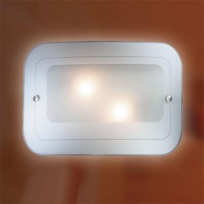 Светильник Сонекс 2271 хром Tivuпрямоугольные светильники<br>Настенно потолочный светильник Сонекс (Sonex) 2271  подходит как для установки в вертикальном положении - на стены, так и для установки в горизонтальном - на потолок. Для установки настенно потолочных светильников на натяжной потолок необходимо использовать светодиодные лампы LED, которые экономнее ламп Ильича (накаливания) в 10 раз, выделяют мало тепла и не дадут расплавиться Вашему потолку.<br><br>S освещ. до, м2: 8<br>Тип лампы: накаливания / энергосбережения / LED-светодиодная<br>Тип цоколя: E27<br>Цвет арматуры: серебристый<br>Количество ламп: 2<br>Ширина, мм: 400<br>Высота, мм: 280<br>MAX мощность ламп, Вт: 60