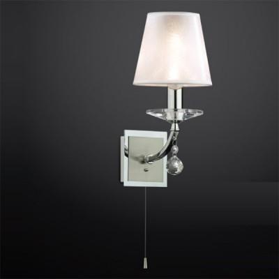 Светильник Odeon Light 2274/1W хром KvintaКлассические<br><br><br>S освещ. до, м2: 2<br>Тип лампы: накаливания / энергосбережения / LED-светодиодная<br>Тип цоколя: E14<br>Цвет арматуры: серебристый<br>Количество ламп: 1<br>Ширина, мм: 140<br>Высота, мм: 290<br>MAX мощность ламп, Вт: 40