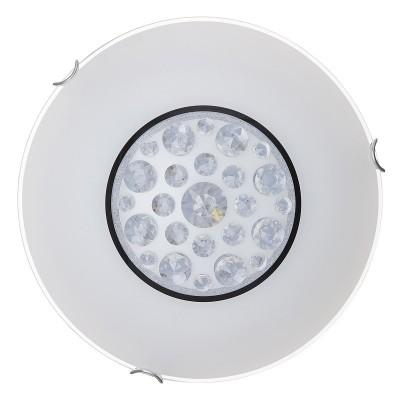Светильник светодиодный Сонекс 228/DL LAKRIMA 48Вткруглые светильники<br><br><br>S освещ. до, м2: 24<br>Тип лампы: LED - светодиодная<br>Цвет арматуры: серебристый хром<br>Диаметр, мм мм: 400<br>Высота, мм: 105<br>Оттенок (цвет): белый<br>MAX мощность ламп, Вт: 48
