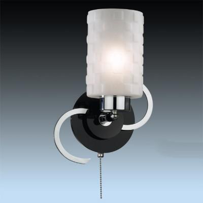 Светильник Odeon Light 2282/1W никель BilaСовременные<br><br><br>S освещ. до, м2: 4<br>Тип лампы: накаливания / энергосбережения / LED-светодиодная<br>Тип цоколя: E27<br>Количество ламп: 1<br>Ширина, мм: 210<br>MAX мощность ламп, Вт: 60<br>Высота, мм: 240<br>Цвет арматуры: серый