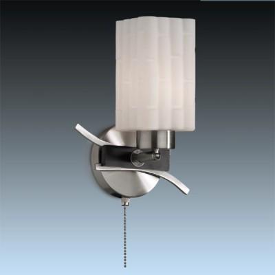 Светильник Odeon Light 2283/1W никель NukiСовременные<br><br><br>S освещ. до, м2: 4<br>Тип лампы: накаливания / энергосбережения / LED-светодиодная<br>Тип цоколя: E27<br>Количество ламп: 1<br>Ширина, мм: 190<br>MAX мощность ламп, Вт: 60<br>Высота, мм: 260<br>Цвет арматуры: серый