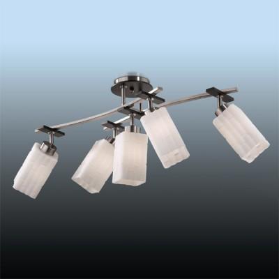 Люстра Odeon Light 2283/5C никель NukiПоворотные<br>Компания «Светодом» предлагает широкий ассортимент люстр от известных производителей. Представленные в нашем каталоге товары выполнены из современных материалов и обладают отличным качеством. Благодаря широкому ассортименту Вы сможете найти у нас люстру под любой интерьер. Мы предлагаем как классические варианты, так и современные модели, отличающиеся лаконичностью и простотой форм.  Стильная люстра Odeon light 2283/5C станет украшением любого дома. Эта модель от известного производителя не оставит равнодушным ценителей красивых и оригинальных предметов интерьера. Люстра Odeon light 2283/5C обеспечит равномерное распределение света по всей комнате. При выборе обратите внимание на характеристики, позволяющие приобрести наиболее подходящую модель. Купить понравившуюся люстру по доступной цене Вы можете в интернет-магазине «Светодом».<br><br>Установка на натяжной потолок: Да<br>S освещ. до, м2: 20<br>Крепление: планка<br>Тип лампы: накаливания / энергосбережения / LED-светодиодная<br>Тип цоколя: E27<br>Количество ламп: 5<br>MAX мощность ламп, Вт: 60<br>Длина, мм: 870<br>Высота, мм: 350<br>Цвет арматуры: серый