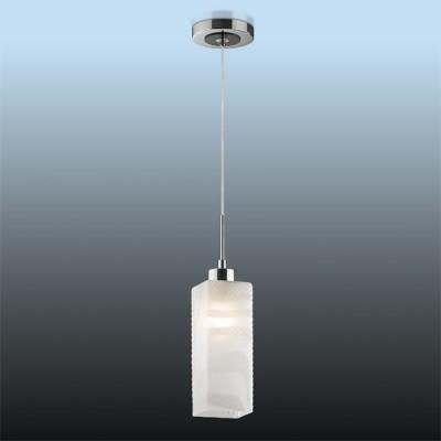 Светильник Odeon light 2285/1B никель ZoroОдиночные<br>Подвесной светильник Odeon light 2285/1В обладает особенной оригинальной грацией и своеобразностью формы. Откажитесь от нагромождения конструкции и лишних элементов, ведь сегодня это является важным плюсом для освобождения пространства. Силуэт светильника Odeon light 2285/1B не так прост: перед Вами интересная форма плафона белоснежного оттенка, дополненного горизонтальным волнообразным узором, лаконично украшающим фигуру. Яркий и насыщенный свет Вам гарантирован в гармоничном тандеме с функциональностью превосходного элемента декора от итальянских мастеров. Творение Odeon light 2285/1В способно наполнить сиянием любые интерьерные просторы! Вдохновитесь свежим силуэтом!<br><br>S освещ. до, м2: 4<br>Крепление: планка<br>Тип лампы: накаливания / энергосбережения / LED-светодиодная<br>Тип цоколя: E27<br>Количество ламп: 1<br>MAX мощность ламп, Вт: 60<br>Диаметр, мм мм: 120<br>Высота, мм: 230-800<br>Цвет арматуры: серый