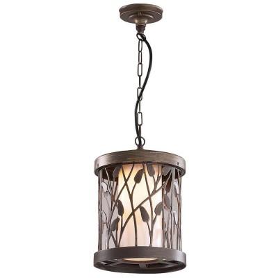 Купить Светильник подвесной Odeon light 2287/1 патина коричневый Larga, Китай, плафон