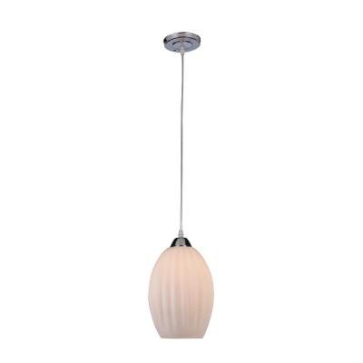 Светильник подвесной Iris Muar  229/1-ChromeОжидается<br><br><br>Крепление: Крепежная планка<br>Тип цоколя: Е27<br>Цвет арматуры: Хром<br>Количество ламп: 1<br>Ширина, мм: 160<br>Длина, мм: 160<br>Высота, мм: 240-1000<br>Оттенок (цвет): Белый<br>MAX мощность ламп, Вт: 60