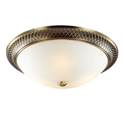 Светильник Сонекс 2304 PRAIMПотолочные<br><br><br>Установка на натяжной потолок: Ограничено<br>S освещ. до, м2: 6<br>Крепление: Планка<br>Тип товара: Настенно-потолочный светильник<br>Тип лампы: Накаливания / энергосбережения / светодиодная<br>Тип цоколя: E14<br>Количество ламп: 2<br>MAX мощность ламп, Вт: 60<br>Диаметр, мм мм: 330<br>Высота, мм: 110<br>Цвет арматуры: бронзовый