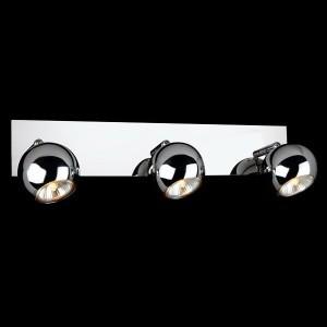 Светильник Евросвет 23102/3 хромТройные<br>Светильники-споты – это оригинальные изделия с современным дизайном. Они позволяют не ограничивать свою фантазию при выборе освещения для интерьера. Такие модели обеспечивают достаточно качественный свет. Благодаря компактным размерам Вы можете использовать несколько спотов для одного помещения.  Интернет-магазин «Светодом» предлагает необычный светильник-спот Евросвет 23102/3 по привлекательной цене. Эта модель станет отличным дополнением к люстре, выполненной в том же стиле. Перед оформлением заказа изучите характеристики изделия.  Купить светильник-спот Евросвет 23102/3 в нашем онлайн-магазине Вы можете либо с помощью формы на сайте, либо по указанным выше телефонам. Обратите внимание, что у нас склады не только в Москве и Екатеринбурге, но и других городах России.<br><br>Тип лампы: галогенная / LED-светодиодная<br>Тип цоколя: G5.3<br>MAX мощность ламп, Вт: 50<br>Длина, мм: 510<br>Высота, мм: 140<br>Цвет арматуры: серебристый