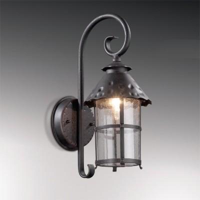 Светильник настенный Odeon light 2312/1W тем. коричневый LumiНастенные<br>Прекрасный уличный фонарь представлен итальянскими производителями. Это настенное экстерьерное изделие Odeon light 2312/1W, выполненное в стилизованной сказочной манере, благодаря которой Вы переноситесь в отдельный мир необычной эстетики. Изогнутая конструкция фонаря образует интересный силуэт, дополненный оригинальной стеклянной огранкой, напоминающей по силуэту уютный домик с окнами сияния. Тёмно-коричневый цвет светильника Odeon light 2312/1W позволяет вписать его в любой экстерьер, так как это один из лучших универсальных оттенков для придомовых экспозиций. Вы останетесь довольны столь выгодным приобретением и его долгим служением Вашему комфорту.<br><br>S освещ. до, м2: до 4<br>Тип лампы: накаливания / энергосбережения / LED-светодиодная<br>Тип цоколя: E27<br>Количество ламп: 1<br>Ширина, мм: 186<br>MAX мощность ламп, Вт: 60<br>Расстояние от стены, мм: 250<br>Высота, мм: 440<br>Цвет арматуры: коричневый