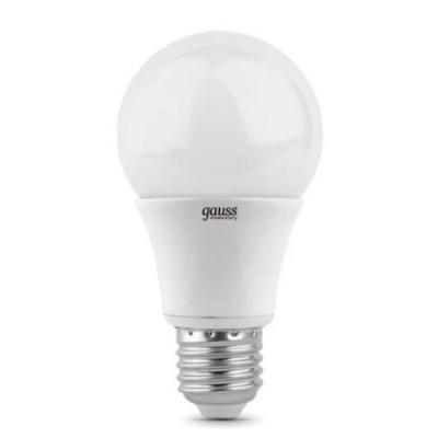 Лампа Gauss 23226 LED Elementary A60 E27 6W 4100K 1/40Стандартный вид<br>В интернет-магазине «Светодом» можно купить не только люстры и светильники, но и лампочки. В нашем каталоге представлены светодиодные, галогенные, энергосберегающие модели и лампы накаливания. В ассортименте имеются изделия разной мощности, поэтому у нас Вы сможете приобрести все необходимое для освещения.   Лампа Gauss 23226 LED Elementary A60 E27 6W 4100K 1/40 обеспечит отличное качество освещения. При покупке ознакомьтесь с параметрами в разделе «Характеристики», чтобы не ошибиться в выборе. Там же указано, для каких осветительных приборов Вы можете использовать лампу Gauss 23226 LED Elementary A60 E27 6W 4100K 1/40Gauss 23226 LED Elementary A60 E27 6W 4100K 1/40.   Для оформления покупки воспользуйтесь «Корзиной». При наличии вопросов Вы можете позвонить нашим менеджерам по одному из контактных номеров. Мы доставляем заказы в Москву, Екатеринбург и другие города России.<br><br>Цветовая t, К: CW - холодный белый 4000 К<br>Тип лампы: LED - светодиодная<br>Тип цоколя: E27<br>Диаметр, мм мм: 60<br>Высота, мм: 110<br>MAX мощность ламп, Вт: 6