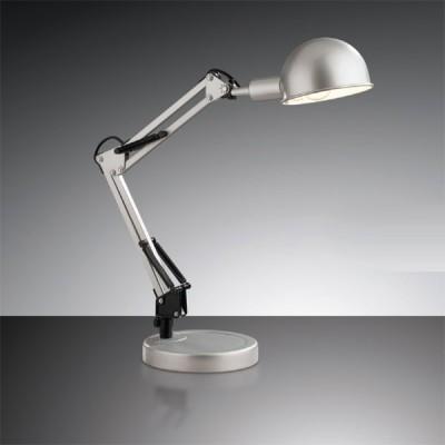 Светильник настольный Odeon light 2324/1T серый IkoОфисные<br>Настольная лампа – это не просто источник дополнительного освещения, но и оригинальный элемент декора. Его можно установить в спальне, гостиной, кабинете и других комнатах. Интернет-магазин «Светодом» предлагает настольные лампы разных стилей по доступным ценам. Благодаря большому ассортименту Вы обязательно найдете в нашем каталоге именно ту модель, которую искали.   Настольная лампа Odeon light 2324/1T  – прекрасный вариант для завершения интерьера. Ее можно включить одновременно с люстрой для более яркого освещения или без нее для создания уютной атмосферы, настраивающей на отдых.   Купить настольную лампу Odeon light 2324/1T  Вы можете с помощью виртуальной «Корзины» или по контактным номерам, указанным на сайте.<br><br>S освещ. до, м2: 4<br>Тип лампы: накал-я - энергосбер-я<br>Тип цоколя: E14<br>Количество ламп: 1<br>Ширина, мм: 160<br>MAX мощность ламп, Вт: 60<br>Высота, мм: 500<br>Цвет арматуры: серебристый