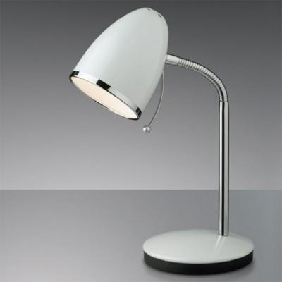 Светильник настольный Odeon light 2329/1T белый LuriОфисные<br>Высококачественная настольная лампа – необходимая составляющая рабочей поверхности, поэтому мы предлагаем Вам обратиться к итальянскому изделию Odeon light 2329/1T. В нём сочетаются европейские традиции яркого света и лаконичность дизайна. Настольная лампа Odeon light 2329/1T – прекрасный источник необходимого излучения для реализации любых практических задач: от офисной работы до частного творчества! Вы по достоинству оцените поистине аккуратный дизайн изделия благородного белого цвета. С каждой стороны настольная лампа Odeon light 2329/1T представляет собой мягко очерченный силуэт, лаконичные изгибы и презентабельную манерность. Это настоящий подарок для делового освещения!<br><br>S освещ. до, м2: 2<br>Тип товара: настольная лампа<br>Тип лампы: накал-я - энергосбер-я<br>Тип цоколя: E27<br>Количество ламп: 1<br>Ширина, мм: 135<br>MAX мощность ламп, Вт: 40<br>Высота, мм: 280<br>Цвет арматуры: белый