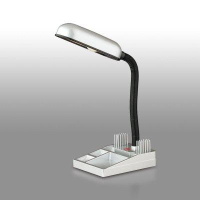 Светильник настольный Odeon light 2335/1TОфисные<br><br><br>Тип товара: настольная лампа<br>Тип лампы: накал-я - энергосбер-я<br>Тип цоколя: E14<br>Ширина, мм: 200<br>Длина, мм: 190<br>Высота, мм: 295