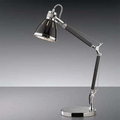 Светильник настольный Odeon light 2338/1T черный FartuОфисные<br><br><br>S освещ. до, м2: 2<br>Тип товара: настольная лампа<br>Тип лампы: накал-я - энергосбер-я<br>Тип цоколя: E27<br>Количество ламп: 1<br>Ширина, мм: 210<br>MAX мощность ламп, Вт: 40<br>Высота, мм: 680<br>Цвет арматуры: черный