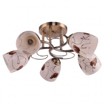 Потолочный светильник Escada 234/5PL E27*60W Antique BrassПод заказ<br>