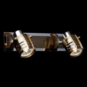 Светильник Евросвет 23463/2 хромДвойные<br>Светильники-споты – это оригинальные изделия с современным дизайном. Они позволяют не ограничивать свою фантазию при выборе освещения для интерьера. Такие модели обеспечивают достаточно качественный свет. Благодаря компактным размерам Вы можете использовать несколько спотов для одного помещения.  Интернет-магазин «Светодом» предлагает необычный светильник-спот Евросвет 23463/2 по привлекательной цене. Эта модель станет отличным дополнением к люстре, выполненной в том же стиле. Перед оформлением заказа изучите характеристики изделия.  Купить светильник-спот Евросвет 23463/2 в нашем онлайн-магазине Вы можете либо с помощью формы на сайте, либо по указанным выше телефонам. Обратите внимание, что у нас склады не только в Москве и Екатеринбурге, но и других городах России.<br><br>S освещ. до, м2: 6<br>Тип лампы: галогенная / LED-светодиодная<br>Тип цоколя: G5.3<br>Количество ламп: 2<br>MAX мощность ламп, Вт: 50<br>Длина, мм: 300<br>Высота, мм: 150<br>Цвет арматуры: серебристый