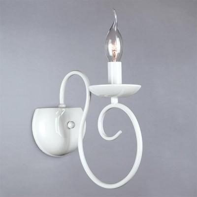 Светильник Bogateapos;s 235/1Современные<br><br><br>Тип лампы: Накаливания / энергосбережения / светодиодная<br>Тип цоколя: E14<br>Количество ламп: 1<br>Ширина, мм: 130<br>MAX мощность ламп, Вт: 60<br>Длина, мм: 210<br>Высота, мм: 220<br>Цвет арматуры: белый