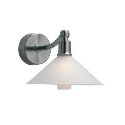 Бра MarkSlojd 237141-496112 ROSAСовременные<br><br><br>Тип лампы: галогенная / LED-светодиодная<br>Цвет арматуры: серебристый