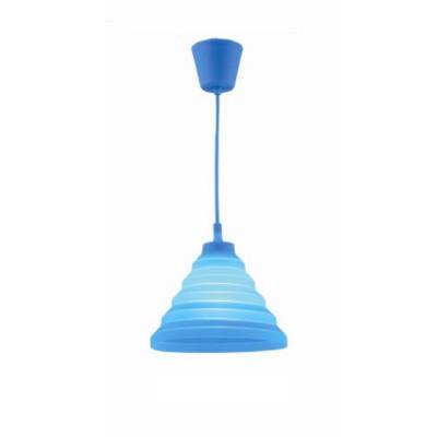 Светильник Flamelli FL2401-1P BlueОдиночные<br>Cветильник подвесной. Токоведущий шнур в декоративной оплётке в цвет абажура. Электрический патрон обтянут колпачком в цвет абажура. Материал абажура – термостойкая резина, нетоксичная, не выделяет химические канцерогены при включении.<br><br>Тип цоколя: E27<br>Цвет арматуры: разноцветный<br>Количество ламп: 1<br>Ширина, мм: 300<br>Диаметр, мм мм: 300<br>Высота, мм: 1200<br>MAX мощность ламп, Вт: 60