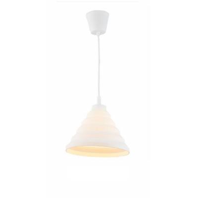 Светильник Flamelli FL2401-1P WhОдиночные<br>Cветильник подвесной. Токоведущий шнур в декоративной оплётке в цвет абажура. Электрический патрон обтянут колпачком в цвет абажура. Материал абажура – термостойкая резина, нетоксичная, не выделяет химические канцерогены при включении.<br><br>Тип цоколя: E27<br>Цвет арматуры: разноцветный<br>Количество ламп: 1<br>Ширина, мм: 300<br>Диаметр, мм мм: 300<br>Высота, мм: 1200<br>MAX мощность ламп, Вт: 60