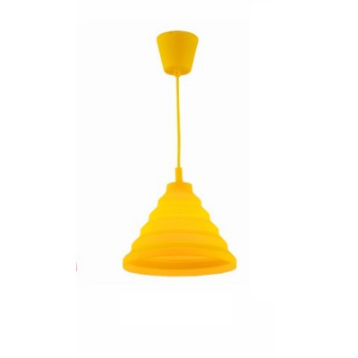 Светильник Flamelli FL2401-1P YLОдиночные<br>Cветильник подвесной. Токоведущий шнур в декоративной оплётке в цвет абажура. Электрический патрон обтянут колпачком в цвет абажура. Материал абажура – термостойкая резина, нетоксичная, не выделяет химические канцерогены при включении.<br><br>Тип лампы: Накаливания / энергосбережения / светодиодная<br>Тип цоколя: E27<br>Цвет арматуры: разноцветный<br>Количество ламп: 1<br>Ширина, мм: 300<br>Диаметр, мм мм: 300<br>Высота, мм: 1200<br>MAX мощность ламп, Вт: 60