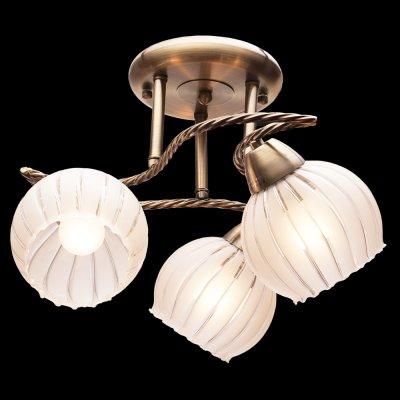 Люстра Idlamp 244/3PF OldbronzeПотолочные<br><br><br>Установка на натяжной потолок: Да<br>S освещ. до, м2: 12<br>Крепление: Планка<br>Тип товара: Люстра<br>Тип цоколя: Е27<br>Количество ламп: 3<br>MAX мощность ламп, Вт: 60<br>Диаметр, мм мм: 570<br>Высота, мм: 280<br>Оттенок (цвет): Полупрозрачный<br>Цвет арматуры: бронзовый