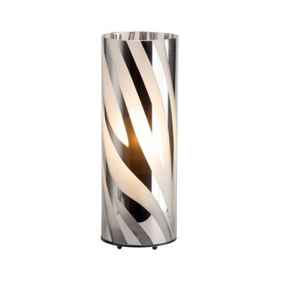 Лампа настольная Brilliant 24547/15 WegaСовременные<br>Зачастую мы ищем идеальное освещение для своего дома и уделяем этому достаточно много времени. Так, например, если нам нужен светильник с количеством ламп - 1 и цвет плафонов должен быть - хром полосатый, а материал плафонов только стекло! То нам, как вариант, подойдет модель - лампа настольная Brilliant 24547/15.<br><br>S освещ. до, м2: 4<br>Тип лампы: накаливания / энергосбережения / LED-светодиодная<br>Тип цоколя: E27<br>Количество ламп: 1<br>MAX мощность ламп, Вт: 60<br>Диаметр, мм мм: 95<br>Высота, мм: 260<br>Цвет арматуры: серебристый