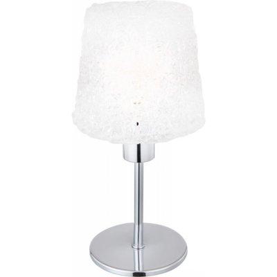 Светильник настольный Globo 24696 ImizuС абажуром<br>Настольная лампа – это не просто источник дополнительного освещения, но и оригинальный элемент декора. Его можно установить в спальне, гостиной, кабинете и других комнатах. Интернет-магазин «Светодом» предлагает настольные лампы разных стилей по доступным ценам. Благодаря большому ассортименту Вы обязательно найдете в нашем каталоге именно ту модель, которую искали.   Настольная лампа Globo 24696 – прекрасный вариант для завершения интерьера. Ее можно включить одновременно с люстрой для более яркого освещения или без нее для создания уютной атмосферы, настраивающей на отдых.   Купить настольную лампу Globo 24696 Вы можете с помощью виртуальной «Корзины» или по контактным номерам, указанным на сайте.<br><br>S освещ. до, м2: 2<br>Тип лампы: накал-я - энергосбер-я<br>Тип цоколя: E14<br>Количество ламп: 1<br>MAX мощность ламп, Вт: 40<br>Диаметр, мм мм: 120<br>Высота, мм: 250<br>Цвет арматуры: серебристый