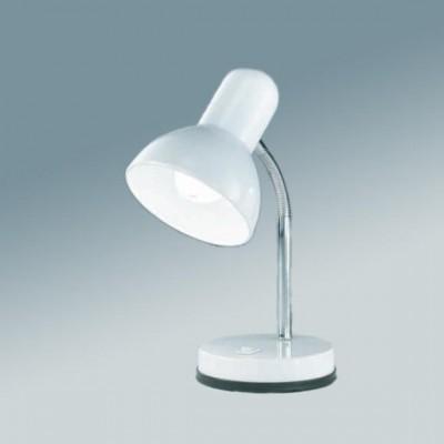 Настольная лампа Globo 2485 BasicОфисные<br>Настольная лампа – это не просто источник дополнительного освещения, но и оригинальный элемент декора. Его можно установить в спальне, гостиной, кабинете и других комнатах. Интернет-магазин «Светодом» предлагает настольные лампы разных стилей по доступным ценам. Благодаря большому ассортименту Вы обязательно найдете в нашем каталоге именно ту модель, которую искали.   Настольная лампа Globo 2485 – прекрасный вариант для завершения интерьера. Ее можно включить одновременно с люстрой для более яркого освещения или без нее для создания уютной атмосферы, настраивающей на отдых.   Купить настольную лампу Globo 2485 Вы можете с помощью виртуальной «Корзины» или по контактным номерам, указанным на сайте.<br><br>S освещ. до, м2: 4<br>Тип лампы: накал-я - энергосбер-я<br>Тип цоколя: E27<br>Цвет арматуры: серебристый<br>Количество ламп: 1<br>Ширина, мм: 145<br>Диаметр, мм мм: 130<br>Длина, мм: 145<br>Высота, мм: 330<br>MAX мощность ламп, Вт: 40
