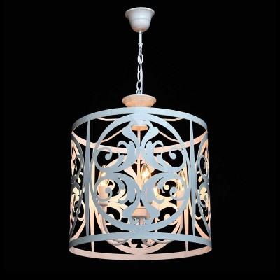 Люстра Mw light 249016905 ЗамокПодвесные<br>Описание модели 249016905: Нежный, воздушный светильник из коллекции «Замок» привнесет в обстановку непринужденность и изящность.  Он выполнен в стиле легкой ковки и идеально подойдет для любителей оригинальных решений в интерьере.  Металлическое основание окрашено в глянцевый белый цвет, освежающий комнату. Трендовый дизайн светильника подчеркнут  изящным резным узором, плавные линии и изгибы которого настраивают на спокойствие и создают уют. Рекомендуемая площадь освещения – 15 кв.м.<br><br>Установка на натяжной потолок: Да<br>S освещ. до, м2: 15<br>Крепление: Крюк<br>Тип лампы: Накаливания / энергосбережения / светодиодная<br>Тип цоколя: E14<br>Количество ламп: 5<br>MAX мощность ламп, Вт: 60<br>Диаметр, мм мм: 450<br>Длина цепи/провода, мм: 600<br>Высота, мм: 1300<br>Цвет арматуры: белый<br>Общая мощность, Вт: 300
