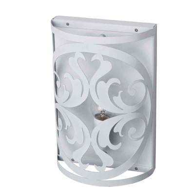 Светильник настенный бра Mw light 249026501 ЗамокСовременные<br>Описание модели 249026501: Нежный, воздушный светильник из коллекции «Замок» привнесет в обстановку непринужденность и изящность.  Он выполнен в стиле легкой ковки и идеально подойдет для любителей оригинальных решений в интерьере.  Металлическое основание окрашено в глянцевый белый цвет, освежающий комнату. Трендовый дизайн светильника подчеркнут  изящным резным узором, плавные линии и изгибы которого настраивают на спокойствие и создают уют. Рекомендуемая площадь освещения – 15 кв.м.<br><br>S освещ. до, м2: 3<br>Тип лампы: Накаливания / энергосбережения / светодиодная<br>Тип цоколя: E14<br>Цвет арматуры: белый<br>Количество ламп: 1<br>Ширина, мм: 200<br>Длина, мм: 270<br>Высота, мм: 90<br>MAX мощность ламп, Вт: 60<br>Общая мощность, Вт: 60