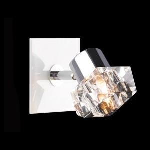 Светильник Евросвет 25332/1 хромОдиночные<br><br><br>S освещ. до, м2: 2<br>Тип товара: Светильник поворотный спот<br>Тип лампы: галогенная / LED-светодиодная<br>Тип цоколя: G9<br>Количество ламп: 1<br>MAX мощность ламп, Вт: 40<br>Длина, мм: 100<br>Высота, мм: 100<br>Цвет арматуры: серебристый