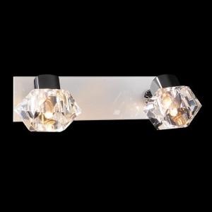Светильник Евросвет 25332/2 хромДвойные<br>Светильники-споты – это оригинальные изделия с современным дизайном. Они позволяют не ограничивать свою фантазию при выборе освещения для интерьера. Такие модели обеспечивают достаточно качественный свет. Благодаря компактным размерам Вы можете использовать несколько спотов для одного помещения. <br>Интернет-магазин «Светодом» предлагает необычный светильник-спот Евросвет 25332/2 по привлекательной цене. Эта модель станет отличным дополнением к люстре, выполненной в том же стиле. Перед оформлением заказа изучите характеристики изделия. <br>Купить светильник-спот Евросвет 25332/2 в нашем онлайн-магазине Вы можете либо с помощью формы на сайте, либо по указанным выше телефонам. Обратите внимание, что мы предлагаем доставку не только по Москве и Екатеринбургу, но и всем остальным российским городам.<br><br>Тип лампы: галогенная / LED-светодиодная<br>Тип цоколя: G9<br>MAX мощность ламп, Вт: 40<br>Длина, мм: 320<br>Высота, мм: 100<br>Цвет арматуры: серебристый