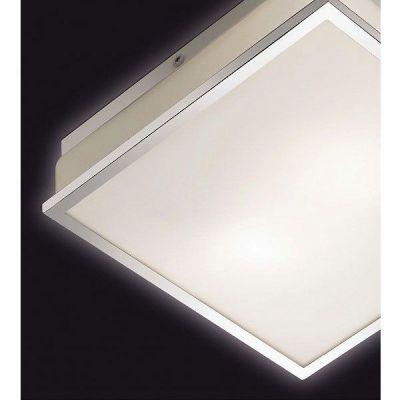 Светильник Odeon light 2537/2CКвадратные<br>Итальянский настенно-потолочный светильник Odeon light 2537/2C выполнен в «минималистичном» стиле: «строгие» геометрические линии, отсутствие декоративных элементов и нейтральные светлые оттенки, что является несомненным атрибутом направления «хай-тек» в интерьере. В доме или квартире такой осветительный прибор наиболее «выигрышно» будет смотреться в качестве основного источника света в комнате площадью до 6 кв.м.: ванной, прихожей или кухне. В офисе он создаст деловую и респектабельную атмосферу, способствующую плодотворному труду.<br><br>S освещ. до, м2: 6<br>Тип лампы: накаливания / энергосбережения / LED-светодиодная<br>Тип цоколя: E27<br>Количество ламп: 2<br>MAX мощность ламп, Вт: 40<br>Цвет арматуры: серебристый