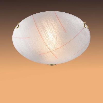 Светильник Сонекс 154 золото Lint OrangeКруглые<br>Настенно потолочный светильник Сонекс (Sonex) 154 подходит как для установки в вертикальном положении - на стены, так и для установки в горизонтальном - на потолок. Для установки настенно потолочных светильников на натяжной потолок необходимо использовать светодиодные лампы LED, которые экономнее ламп Ильича (накаливания) в 10 раз, выделяют мало тепла и не дадут расплавиться Вашему потолку.<br><br>S освещ. до, м2: 6<br>Тип лампы: накаливания / энергосбережения / LED-светодиодная<br>Тип цоколя: E27<br>Количество ламп: 1<br>MAX мощность ламп, Вт: 100<br>Диаметр, мм мм: 300<br>Цвет арматуры: золотой