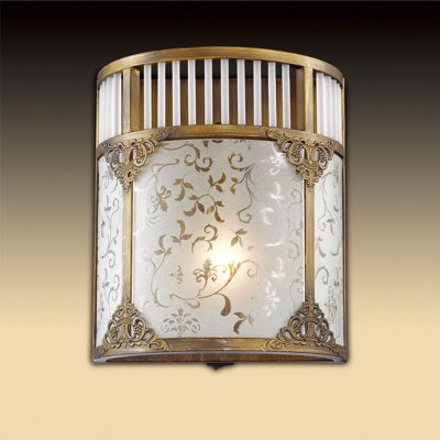Светильник Odeon light 2548/1WТиффани<br><br><br>S освещ. до, м2: 3<br>Тип цоколя: E14<br>Количество ламп: 1<br>Ширина, мм: 200<br>MAX мощность ламп, Вт: 40<br>Высота, мм: 230<br>Цвет арматуры: бронзовый
