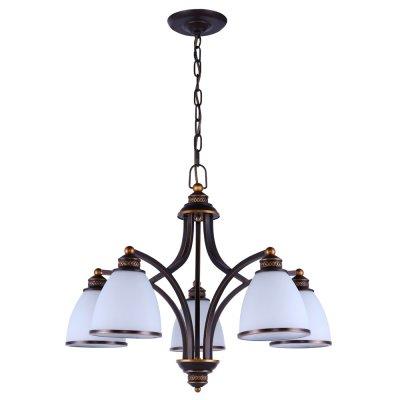 Люстра подвесная Arte lamp A9518LM-5BA Bonito