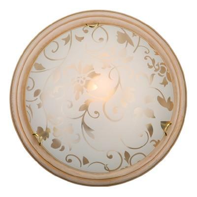 Светильник Сонекс 256 SN15 PROVENCE CREMAКруглые<br><br><br>S освещ. до, м2: 10<br>Тип лампы: накаливания / энергосбережения / LED-светодиодная<br>Тип цоколя: E27<br>Количество ламп: 2<br>MAX мощность ламп, Вт: 100<br>Цвет арматуры: бежевый